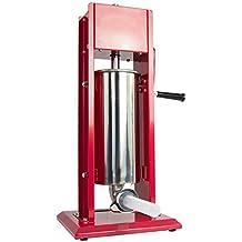 VIVO Sausage Stuffer Vertical Dual Gear Stainless Steel 5L/11LB 11 Pound Meat (STUFR-V205)