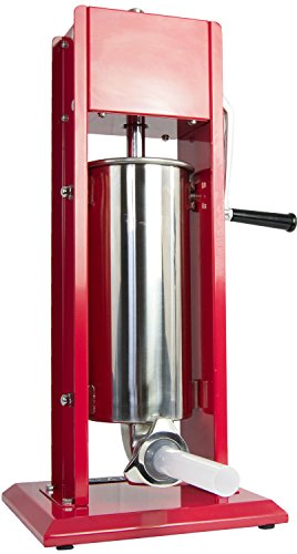 VIVO Sausage Stuffer Vertical 2 Speed Stainelss Steel 5L/11lbs 11 Pound Meat Filler (STUFR-V205)