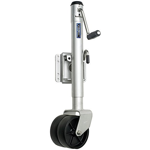 Fulton Dual Wheel 1,500 lb. Bolt-Thru Swivel Jack