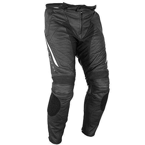 Fieldsheer Unisex-Adult Rider Leather Pant Black 42