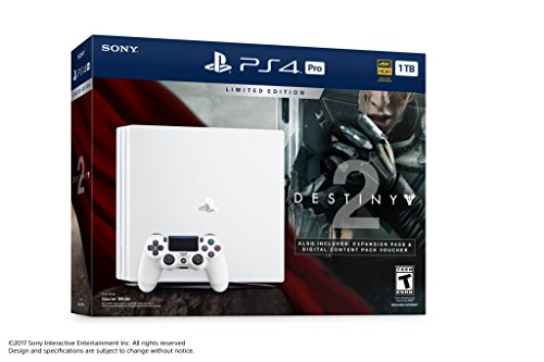 PlayStation 4 Pro 1TB Limited Edition Console – Destiny 2 Bundle [Discontinued]