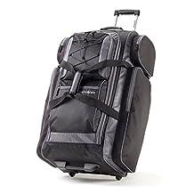 "Samsonite 77235-1062 Campus Gear 30"" Wheeled Duffle, Black/ Grey, Checked – Large"
