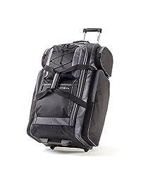 "Samsonite 77235-1062 Campus Gear 30"" Wheeled Duffle, Black/Grey, Checked – Large"