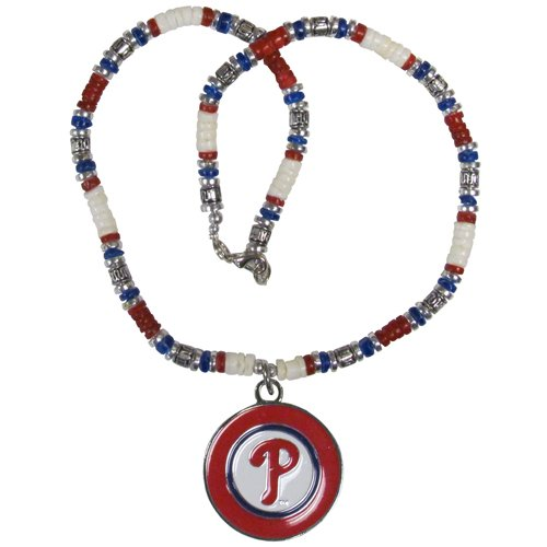 - Philadelphia Phillies Shell Necklace - 18