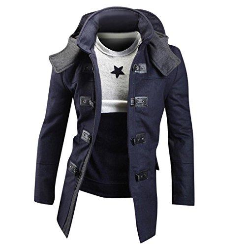 Uomo Moda Inverno Uomini Cappotto Sport Giacca Navy Casuale Sottile Capispalla Tendenza 9023 Design Jeansian qRIwCxEpw