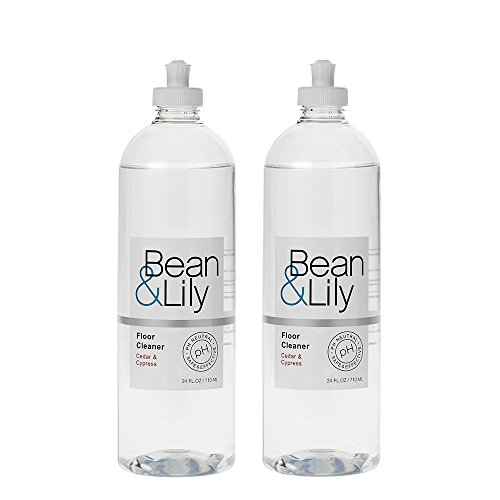 Bean & Lily Floor Cleaner - Cedar & Cypress - 24 oz - pH Neutral Natural Floor Cleaner - Pet-safe