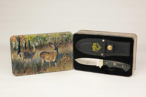 Puma-SGB-Blacktail-Micarta-Hunting-Knife-with-Decorative-Gift-Tin-and-Ballistic-Nylon-Sheath