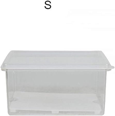Caja de Almacenamiento de Alimentos Refrigerador Desagüe Caja de Almacenamiento de Alimentos Caja de Almacenamiento Cocina Caja de plástico refrigerada Caja de Almacenamiento para el hogar: Amazon.es: Hogar