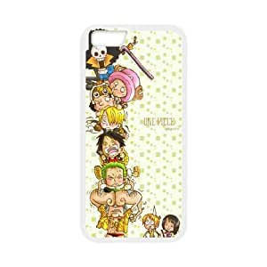ONE PIECE iPhone 6 4.7 Inch Cell Phone Case White Delicate gift JIS_381338