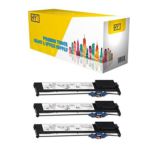 (NYT Compatible 07K4446 Replacement IBM9068 Fax Cartridge Ribbon IBM 9068-3 Pack)