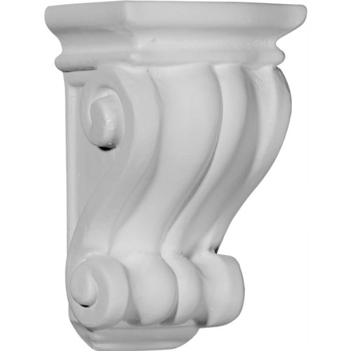 (Ekena Millwork COR03X03X06CO 3 1/8-Inch W x 3-Inch D x 5 1/4-Inch H Traditional Cole Pilaster Corbel)