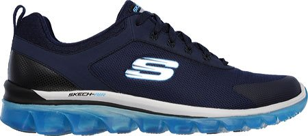 Fitness Times Skechers Trainers Black Blue Men's Air 0 Air 2 Navy Skech Skech Quick UqXw0qFr