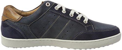 AUSTRALIAN Scott Leather, Sneaker Uomo Blau (Blue-tan)