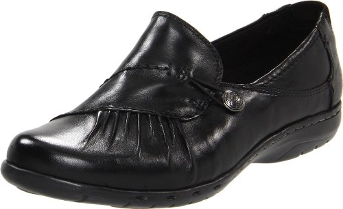 (Rockport Cobb Hill Women's Paulette Flat, Black, 9.5 M US)