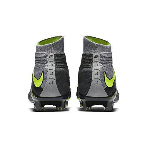 Nike Hypervenom Fantom 3 Df Se Fg 882.008-070 Wolf Grå / Volt Mens Fotbollsskor