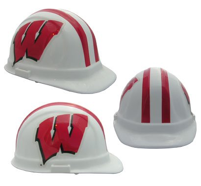 NCAA University of Wisconsin Packaged Hard Hat 1