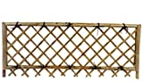 MGP Take-gaki  bamboo pedestrian fence with lattice For Sale