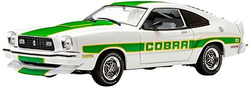 1/18 Ford Mustang II Cobra II (ホワイト/グリーンストライプ) 12895