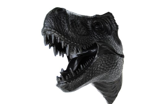 Near and Deer Faux Taxidermy T-Rex Wall Mount, Black by Near & Deer