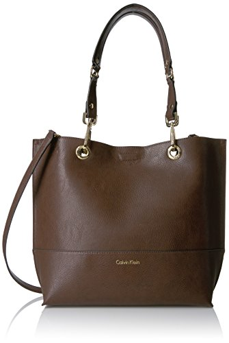 Calvin Klein Sonoma Novelty Reversible Tote, Oak/Black by Calvin Klein