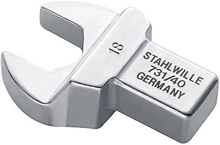 Stahlwille 731//40 27 Einsteck-Maulschl/üssel731 27mm