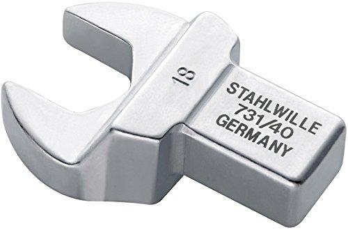 Stahlwille 731//40 17 Insert cl/é /à fourche731 17mm Argent