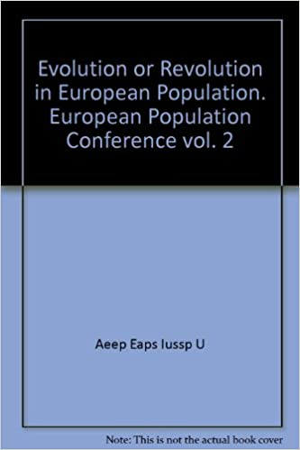 Book Evolution or Revolution in European Population. European Population Conference vol. 2
