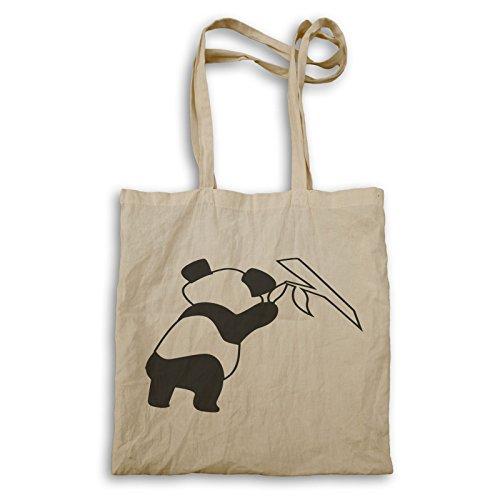 Panda Bear Black 03 Borsa Per Il Trasporto T251r