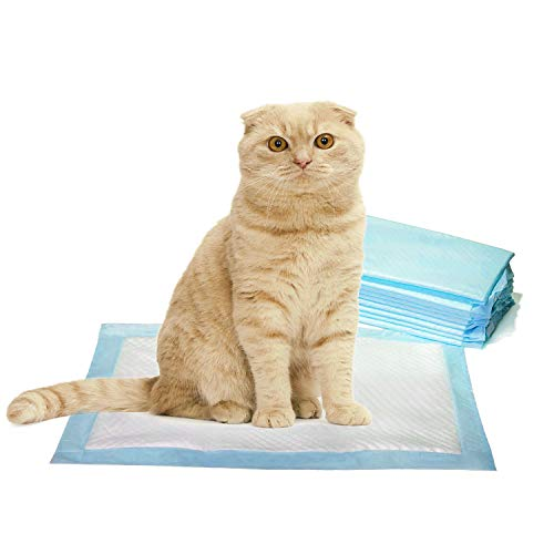 PETSWORLD Cat Pads Generic Refill for Breeze Tidy Cat Litter System, 100 Pads