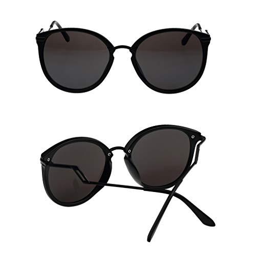 étoiles Sport Couleur A en Des à Soleil soleil Femme de C Nouvelles Lunettes rétro lunettes Modèles réfléchissants de Monture métal nRRqFTZ