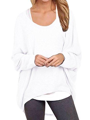 Oryer Womens Off Shoulder Pullover T Shirt