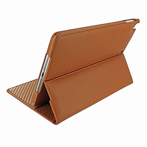 Piel Frama 643 Tan Cinema Magnetic Leather Case for Apple iPad Air / iPad 2017 Model by Piel Frama
