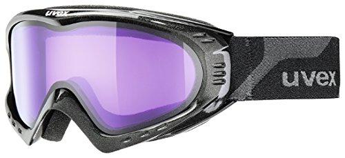 Uvex F 2 Masque de ski Black Mat/ Psycho