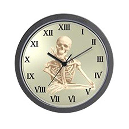 CafePress - 13 Hour Skeleton Clock Wall Clock - Unique Decorative 10