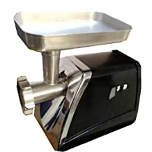 Nesco FS-500 Food Grinder with Stainless Steel Body, 575-watt, Black/Silver