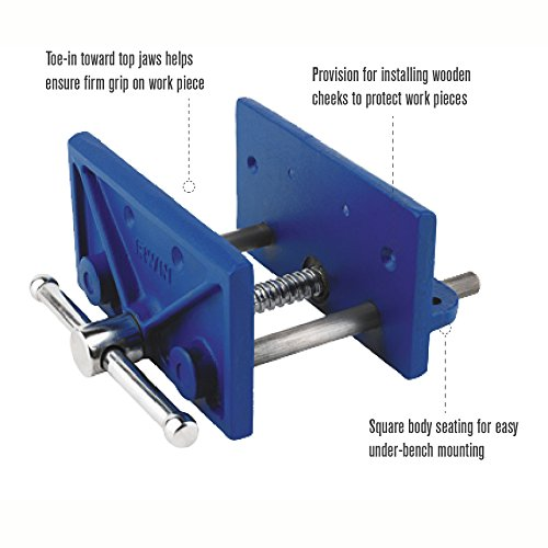 Irwin Tools Woodworker S Vise 6 1 2 226361 Bar Clamps Amazon Com