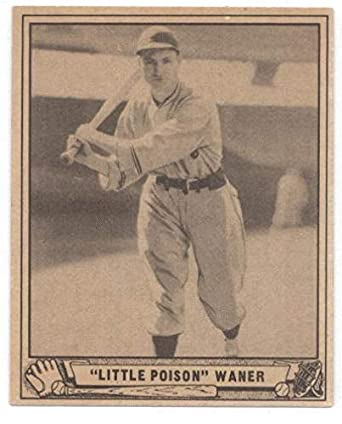 Amazoncom 1940 Play Ball 105 Lloyd Waner Pirates Mlb