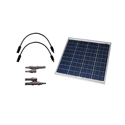 Grape Solar GS-50-EXP Off-Grid Solar Panel Expansion Kit, 50W