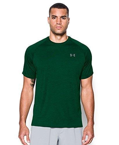 under-armour-mens-tech-short-sleeve-t-shirt-forest-green-steel-medium