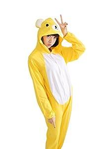 Caringgarden Unisex Animal Onesie Pajamas Cartoon Animal Cosplay Sleepwear For Adults