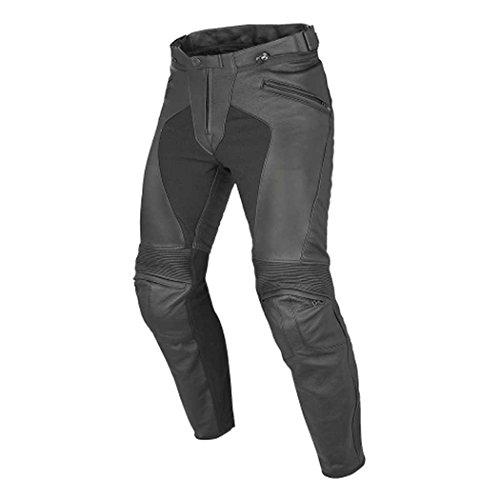 Dainese Pony C2 Perforated Adult Tutu Cowhide Leather Pants, Black, EUR-48/US-32