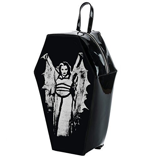 Universal Lily Munster Bat Wing Coffin Backpack