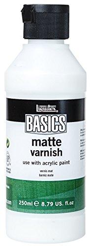 Liquitex BASICS Matte Varnish, 8.79-oz Bottle (Clear Acrylic Varnish)