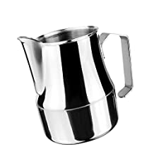 MonkeyJack 350,500,750ml Espresso Coffee Milk Frothing Pitcher Frother Jug Stainless Steel - 500ml