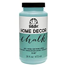 FolkArt Home Decor Chalk Furniture & Craft Paint in Assorted Colors, 16 oz, 34872 Patina