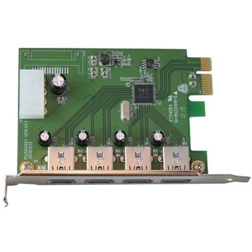 VisionTek 4-Port USB 3.0 PCI Express Expansion Card 900544