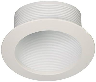 NICOR Lighting 17711 Baffle Trim, 6-Inch, White