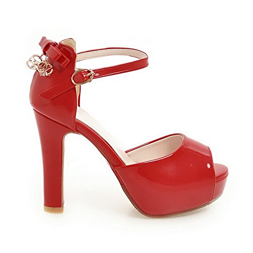 Red Donna Rosso 35 Ballerine AN Wt7npH58