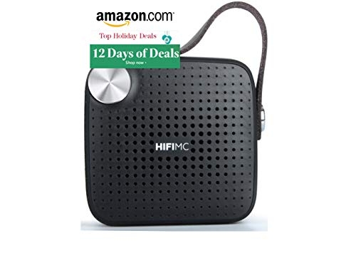 New Years Biggest Sale, Top New Deals, 2019 Sales - Portable Wireless Bluetooth Speaker - HiFi Micro - Louder Bigger Volume, Premium Sound Quality, Mic, Waterproof, Extended Battery Life