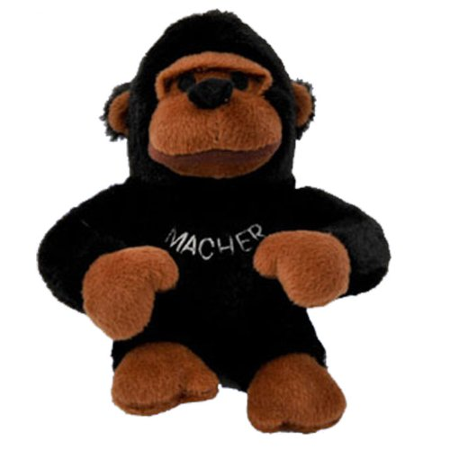 Copa Judaica Chewish Treat Macher Gorilla Squeaker Plush Dog
